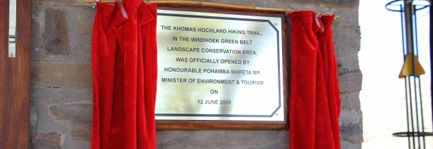 Windhoek Green Belt Landscape launches Khomas Hochland Hiking Trail