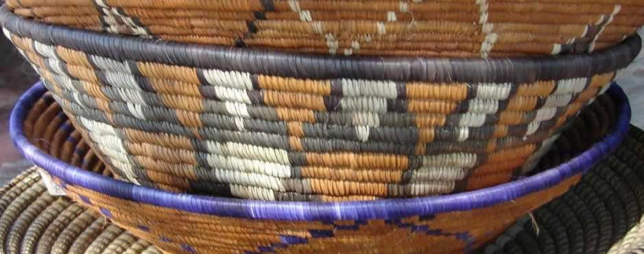 Mudumu Landscape has skilled basket-makers. Photo: Annie Symonds