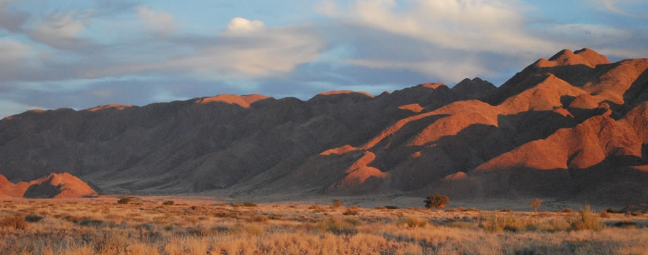 Naukfluft mountains, in the Greater Sossusvlei landscape. Photo: Alice Jarvis