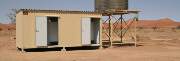 Upgraded ablution facilities