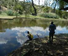 Water sampling to assess water quality